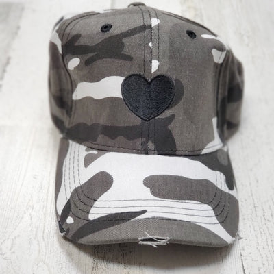 Boardwalk Cap - Gray Camo