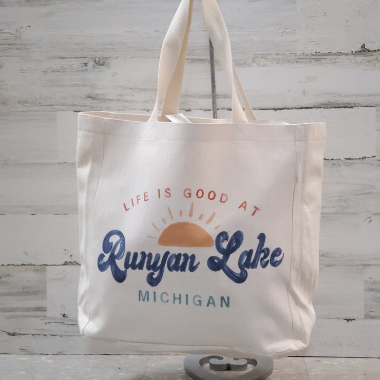Life Is Good At... Tote Bag