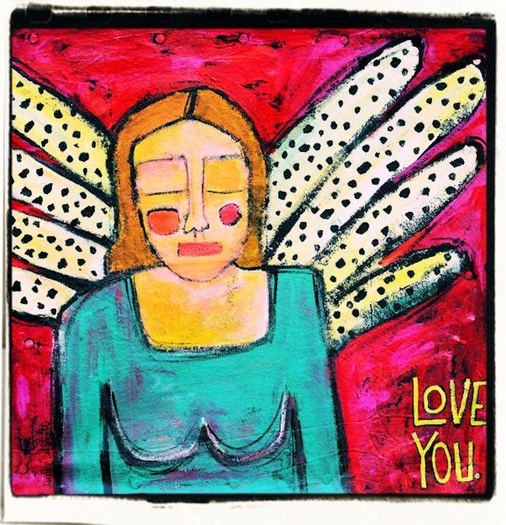 Julie Abbott Art: Love You