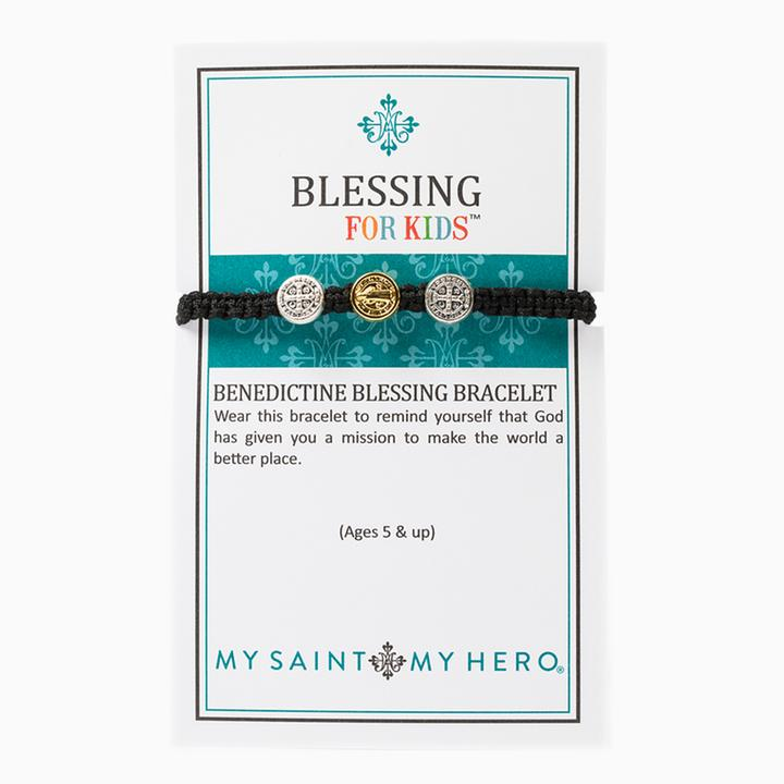 Blessing for Kids Benedictine Blessing Bracelet