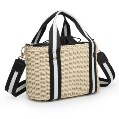 HAISLEY NATURAL WICKER SATCHEL