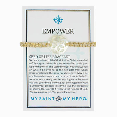 Empower Seed of Life Bracelet