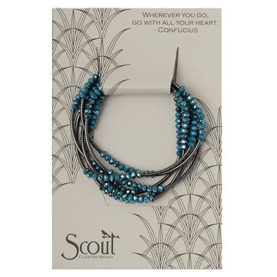 Scout Wrap : Peacock/Hematite