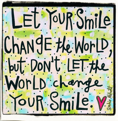 Julie Abbot Art: Your Smile