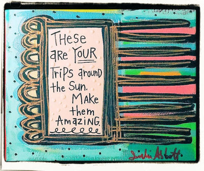 Julie Abbot Art: Trips Around The Sun