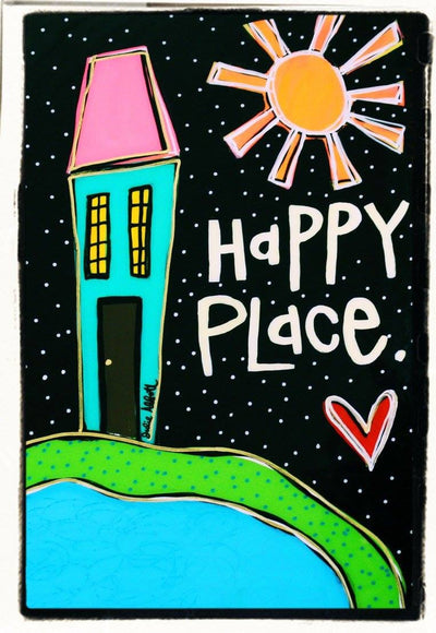 Julie Abbott Art: Happy Place