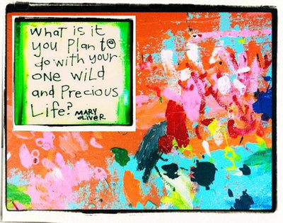 Julie Abbott Art: What Is It You Plant