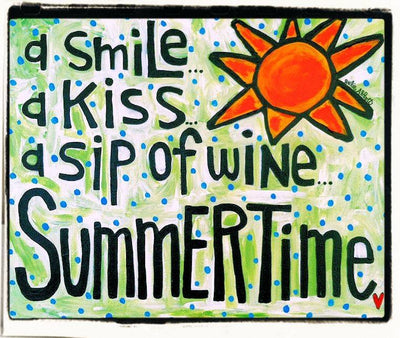 Julie Abbott Art: Summertime