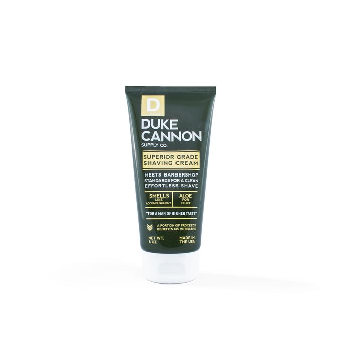 Duke Cannon: Superior Grade Shaving Cream