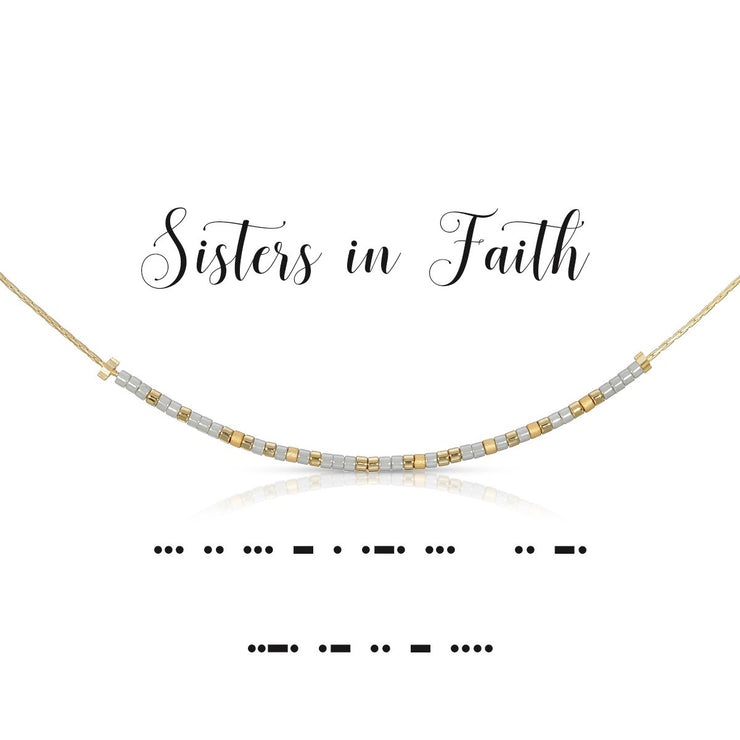 Sisters in Faith Necklace