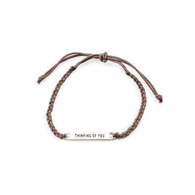 Thinking of You Braided Bracelet