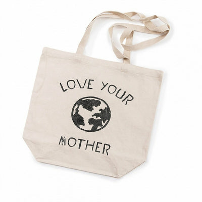 Love Your Mother Canvas Tote Bag