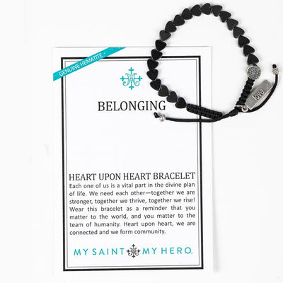 Belonging Heart Upon Heart Bracelet