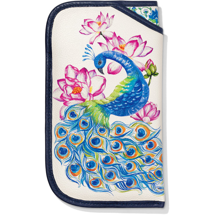 Journey To India Peacock Double Eyeglass Case