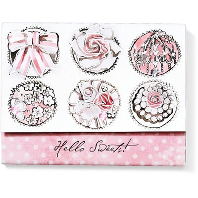 Hello Sweets Notepad