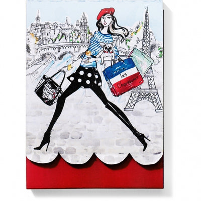 Paris Fashionista Notepad