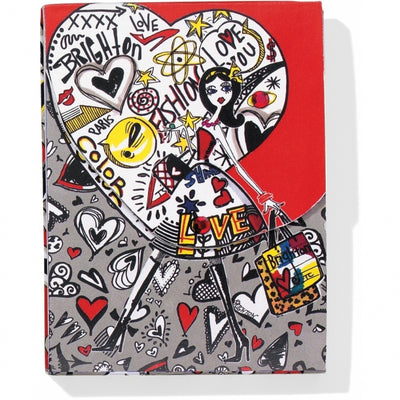 Fashionista Graffiti Notebook