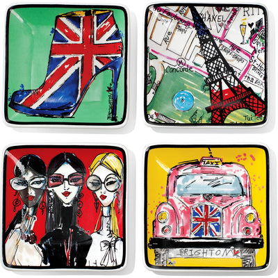 Fashion Passport Trinket Tray