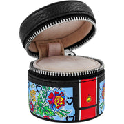 Fashion Lux Mini Round Jewelry Case
