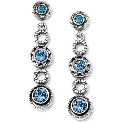 Halo Burst Post Drop Earrings