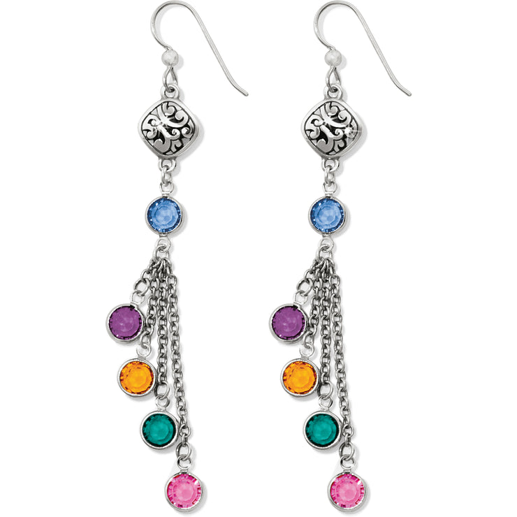 Elora Gems French Wire Earrings