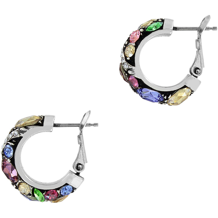 Trust Your Journey Hoop Earrings