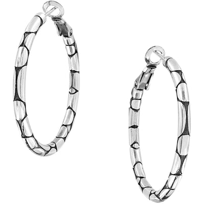 Pebble Small Hoop Earrings