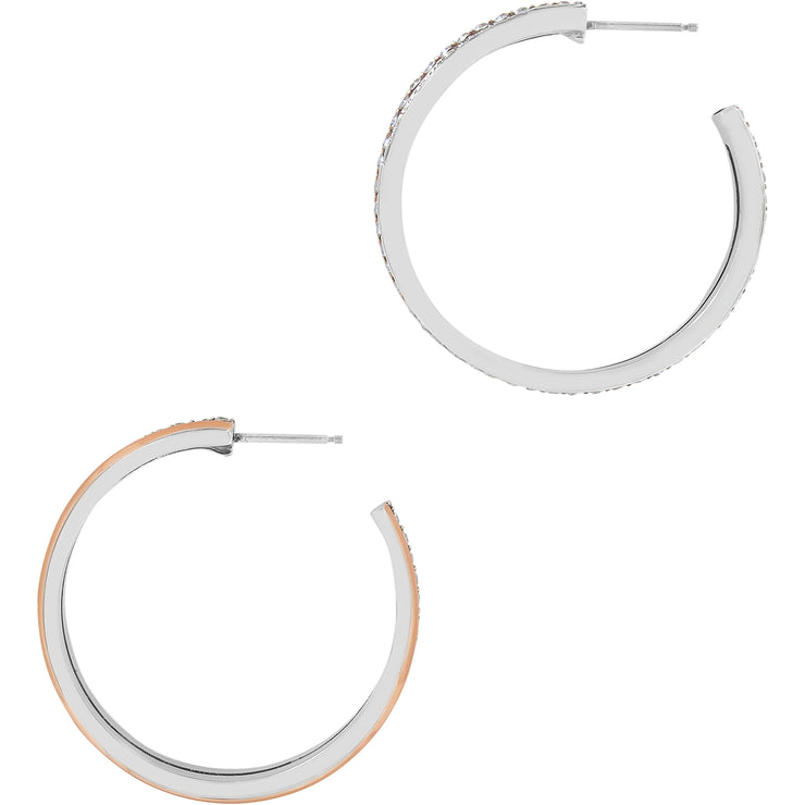 Neptune's Rings Duo Large Hoop Earrings