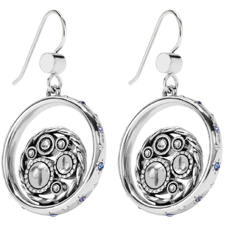 Halo Tauri French Wire Earrings