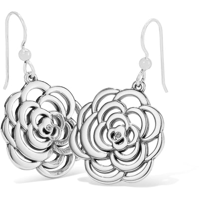 The Botanical Rose French Wire Earrings