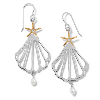 Paradise Cove Trio French Wire Earrings