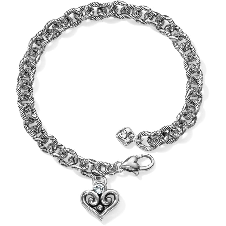 Alcazar Heart Drop Bracelet