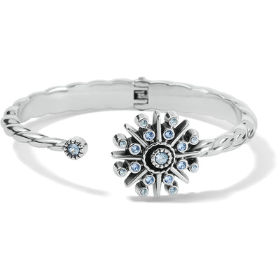 Halo Ice Open Hinged Bangle