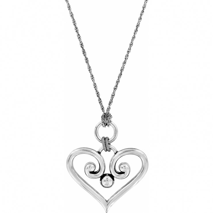 Alcazar Heart Convertible Necklace