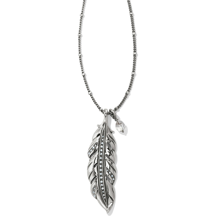 Contempo Ice Feather Convertible Reversible Necklace