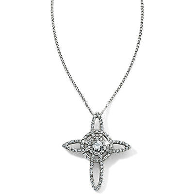 Illumina Petite Cross Necklace