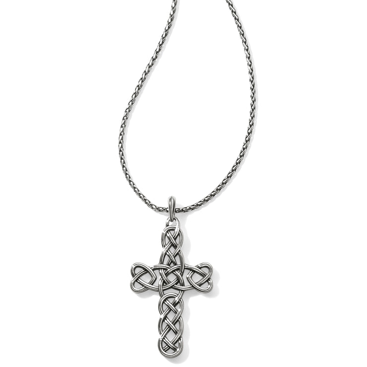 Interlok Large Cross Convertible Necklace