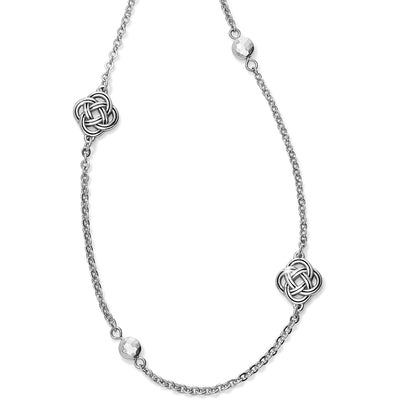 Interlock Petite Long Necklace