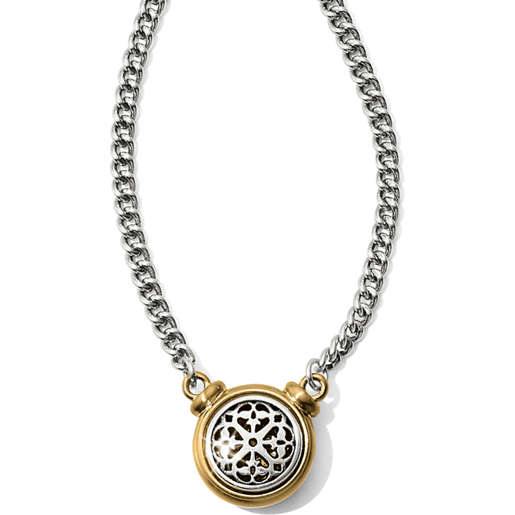 Ferrara Two Tone Short Necklace