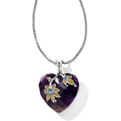 Indira Heart Reversible Necklace