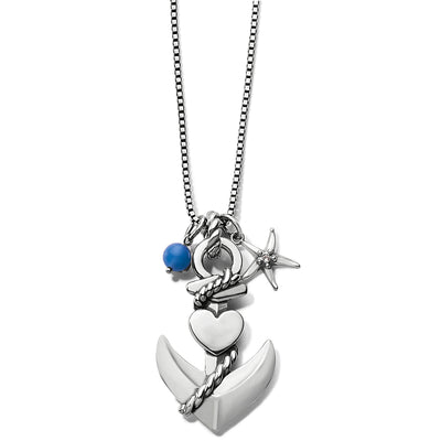 Cruz Anchor Convertible Necklace