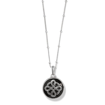 Interlok Noir Reversible Necklace