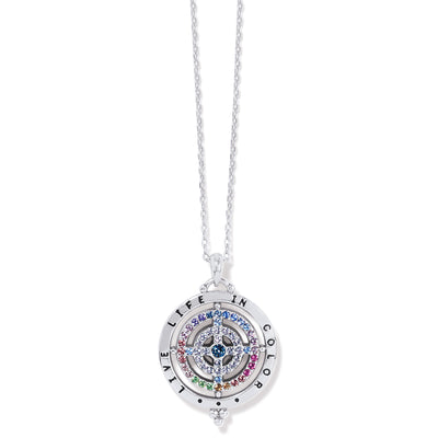 Color Drops Pendant Necklace