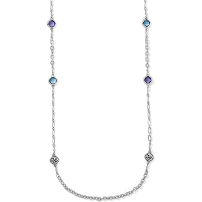 Elora Gems Sky Long Necklace