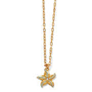 Paradise Cove Petite Starfish Necklace