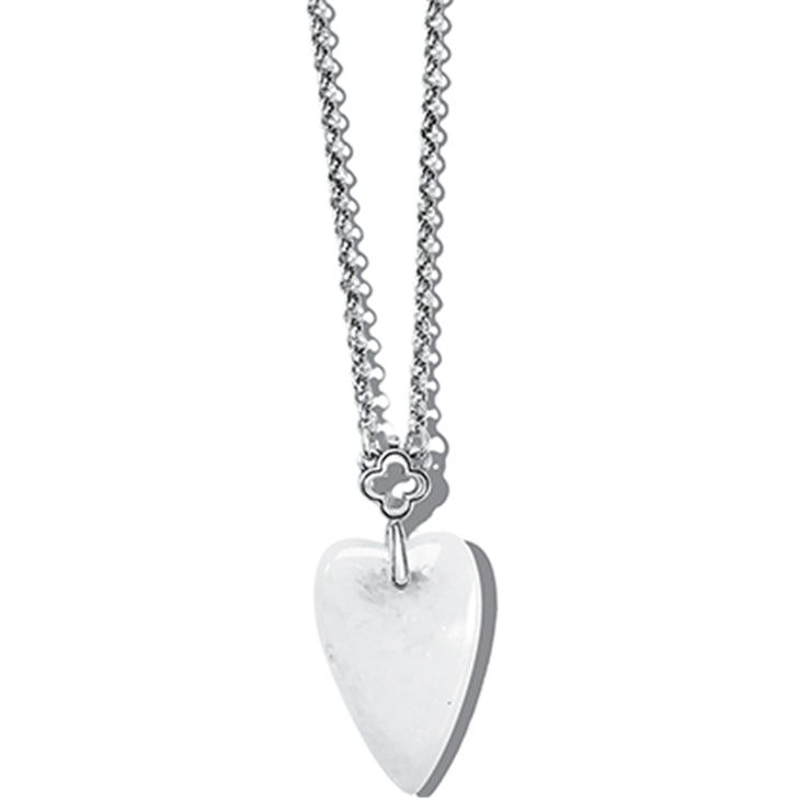 Toledo With Love Crystal Quartz Necklace