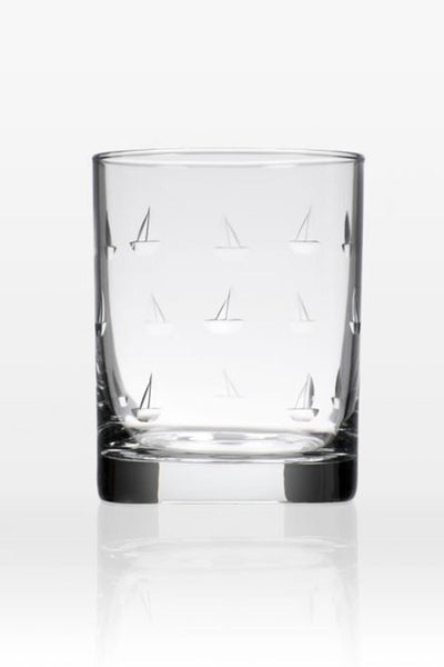 Sailing Double Old Fashioned | Set of 4