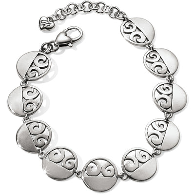 London Groove Disc Link Bracelet