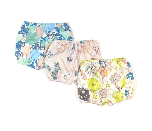 Bloomers Floral - 4 Options - LITTLE FOOT CLOTHING CO.