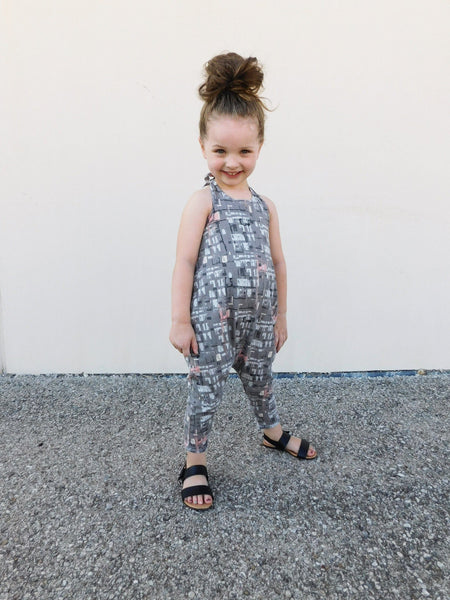 HALTER ROMPER - 4 OPTIONS - LITTLE FOOT CLOTHING CO.